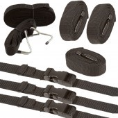 Universal Boat Cover Tie-Down Straps -12-pack